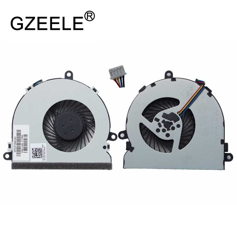 Gzeele New Laptop CPU Cooling Fan For HP 15-A 15-AC121DX 15-AC 15-AF 15-AC067tx 15-AC622TX 15-AC121TX Fgkb 813946- 001 250 G4 Fan
