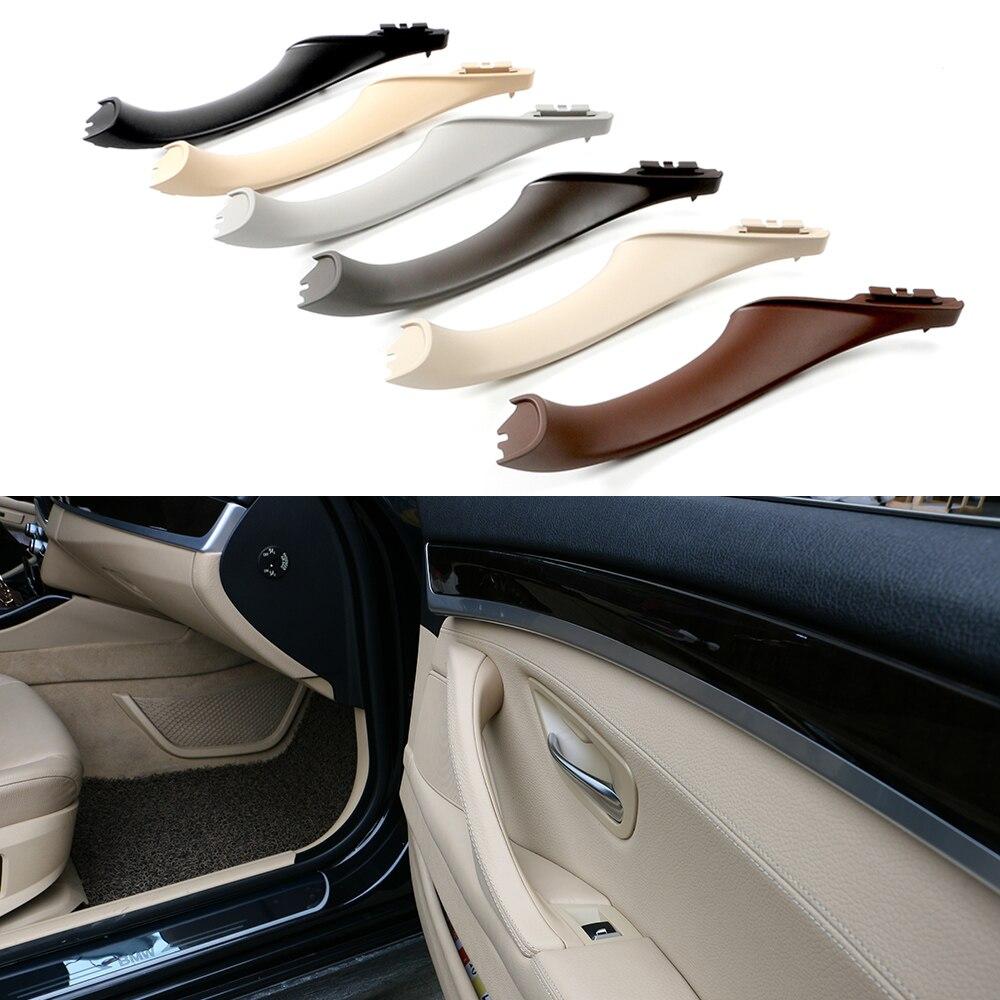 Original  Interior Inner Door Handle Pull Trim Grip Cover For BMW F10 F11 F18 F30 520i 525i 5-Series Left Hand Driving