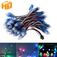 WS2811 RGB LED Module IP68 Waterproof DC12V Full Color LED Pixel Module String Point Lights 50pcs