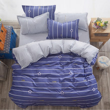 Bedding Set Duvet Cover Sheet Pillowcase Soft Cotton Bed Linens Single Full Double Queen King Size Comforter Pillow Case24(China)