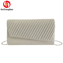 Women Bag Female Striped Hand Chain Slung Shoulder Evening Crossbody Bags for Women Purse Clutch Messenger Bag все цены