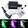 16 W RGBW HA PORTATO in fibra ottica Star Kit del Soffitto luci di 200/300/350/450 pcs * 0.75mm con 2 M fibra Ottica per Star cielo soffitto-in Luci a fibra ottica da Luci e illuminazione su