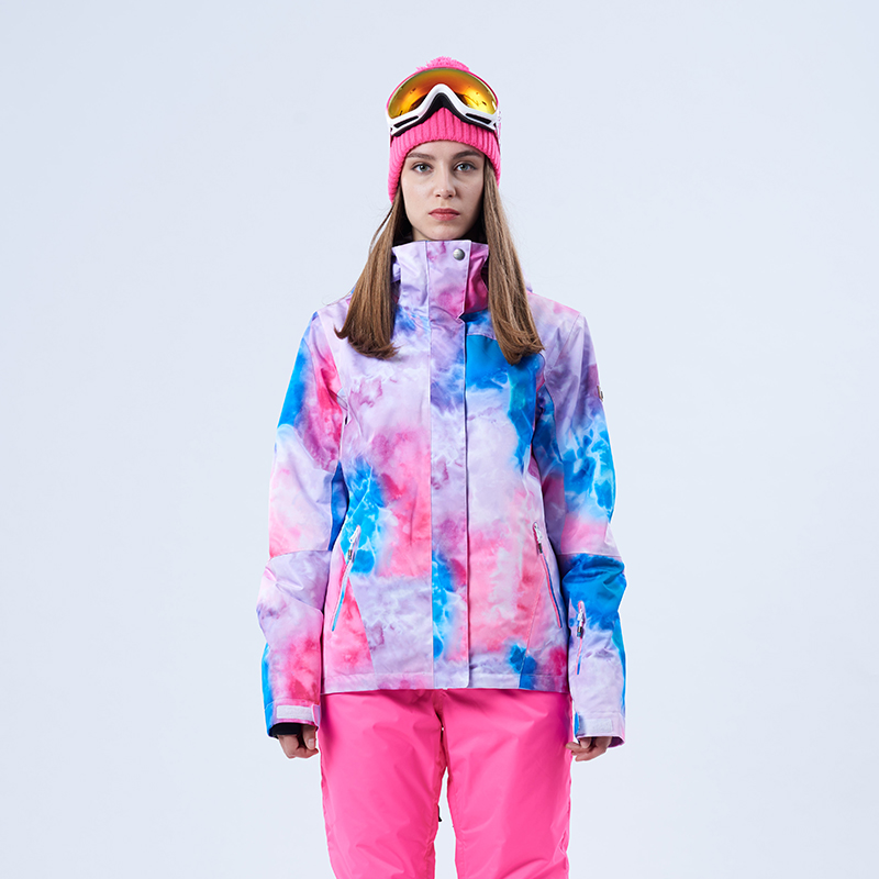 c4ce760ccd 2018 wintersport GS ski jacket women waterproof colorful skiwear ...
