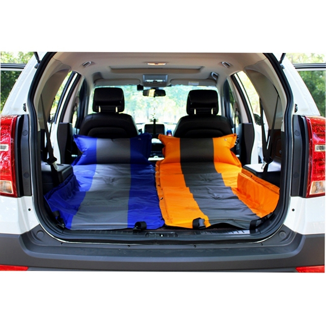 Auto Inflatable Car Hatchback Travel Bed Air Mattress Cover For Honda Fit Odyssby Vw Golf 7