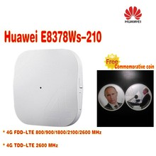 Unlocked Original HUAWEI E8378 E8378Ws-210 FDD800/900/1800/2100/2600MHz TDD2600Mhz 4G AP Routet WIFI with free gift