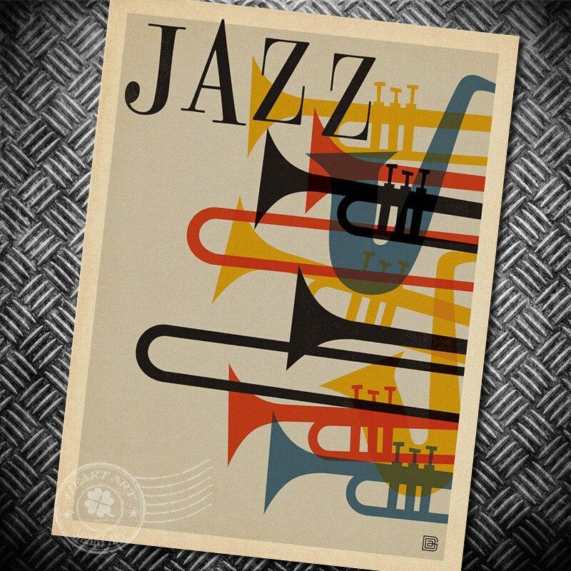 Popular Vintage Jazz Posters-Buy Cheap Vintage Jazz Posters lots ...