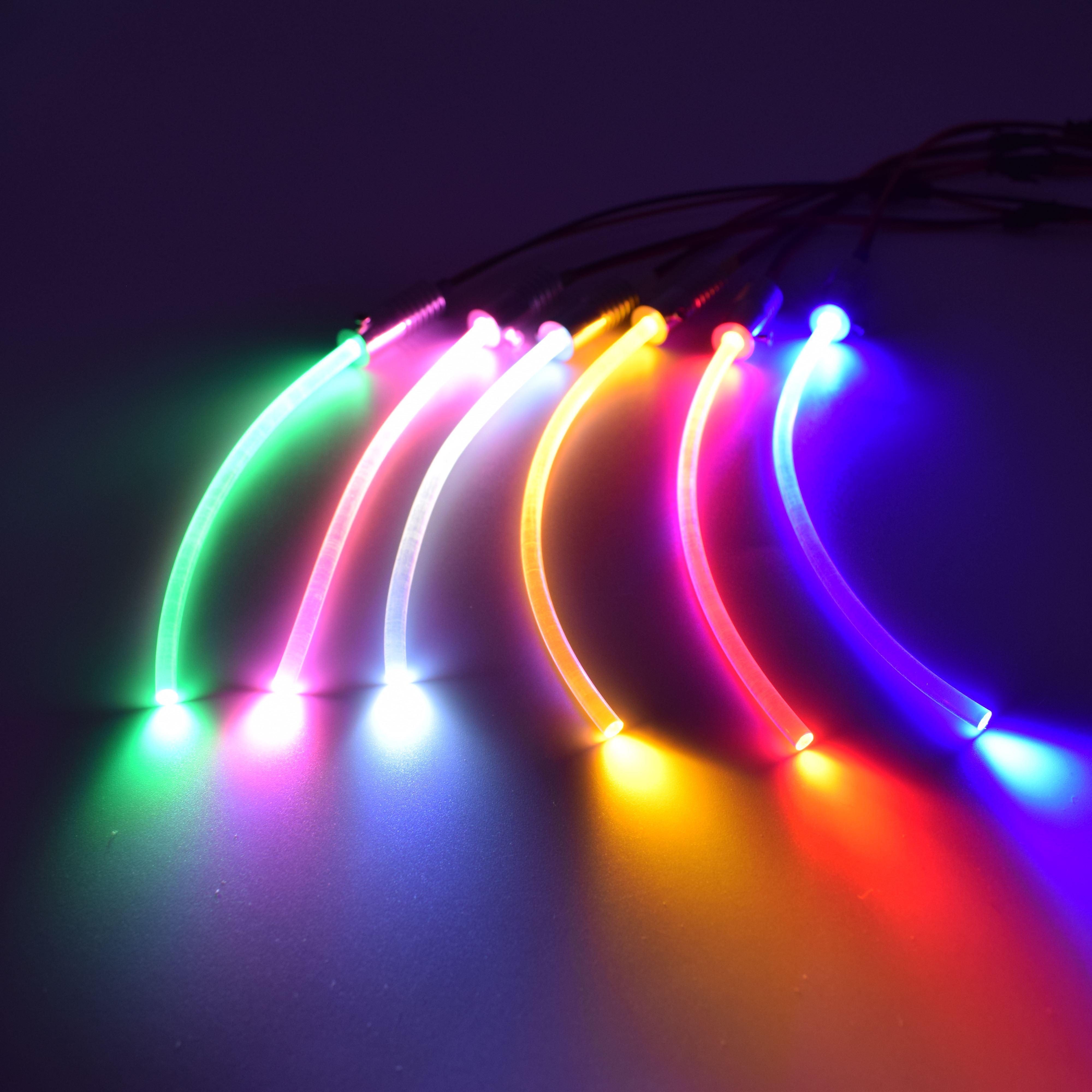1 х Высокое качество DC12V вход 2 Вт маленький размер волоконно-оптический осветитель для автомобиля с бесплатной доставкой