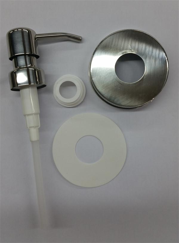 5 Pieces/Lot High Quality Lid with pump and straw soap