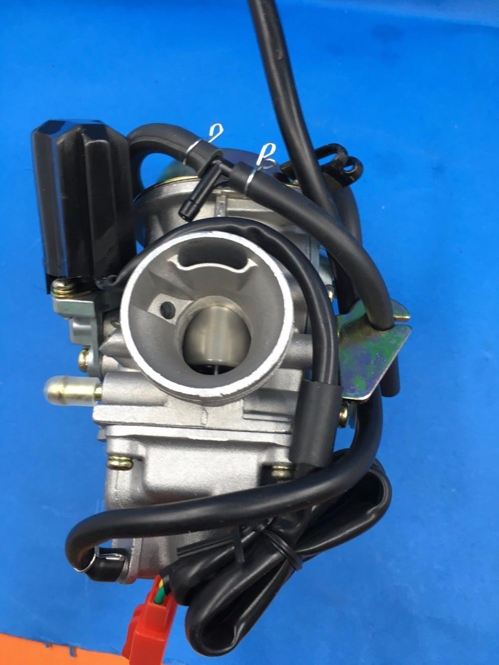 hight resolution of oem pd24j carburetor carb electric choke 125cc 150cc scooter atv gy6 4 stroke qmj152 157