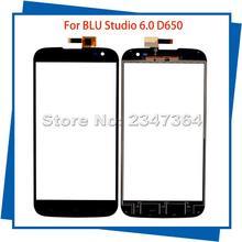 Для BLU Studio 6,0 D650 650 Замена сенсорного экрана дигитайзер сборка цвет гарантия мобильный сенсорный экран для телефона