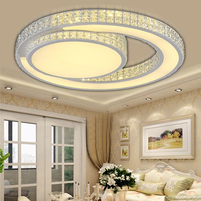 Plafond verlichting LED moderne Slaapkamer verlichting kristal ...