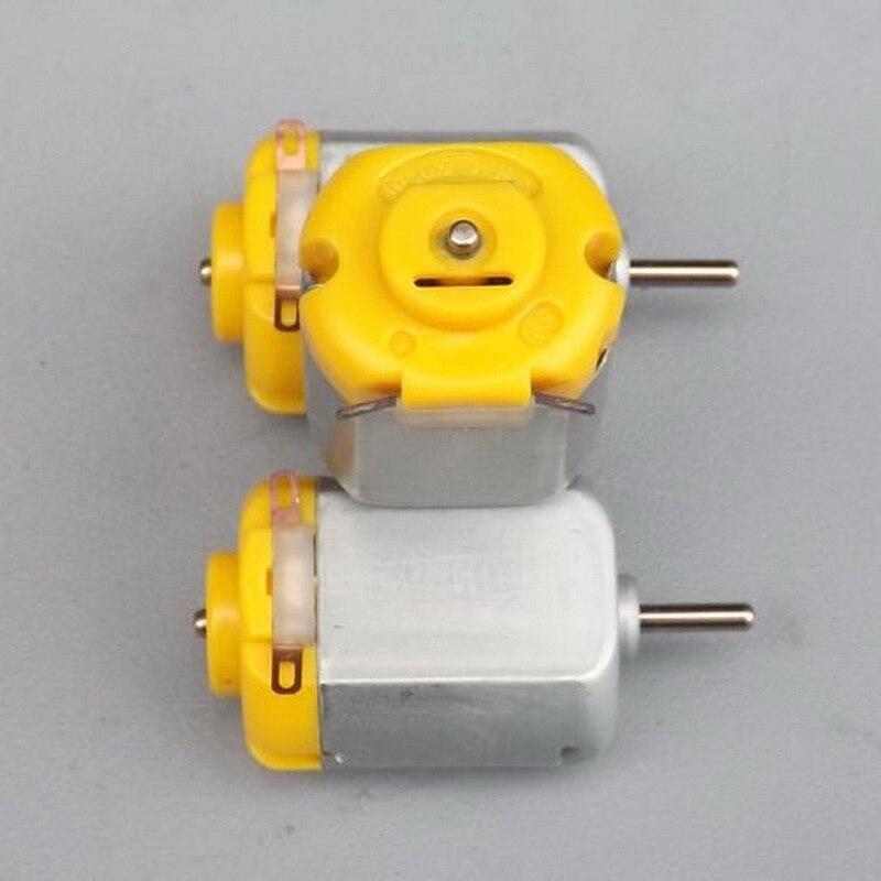 1 PCs New Mini 130 DC Motor Micro Motor For DIY Four-wheel Motor small drive Robotic Scientific Experiments