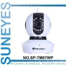 SunEyes SP-TM07WP 720 P HD IP Caméra Sans Fil P2P Plug And Play Bébé Moniteur spport Micro SD/TF Carte Slot