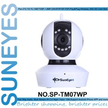SunEyes SP-TM07WP 720 P HD P2P Plug and Play IP Cámara Inalámbrica de Monitor de Bebé spport Tarjeta Micro SD/TF ranura