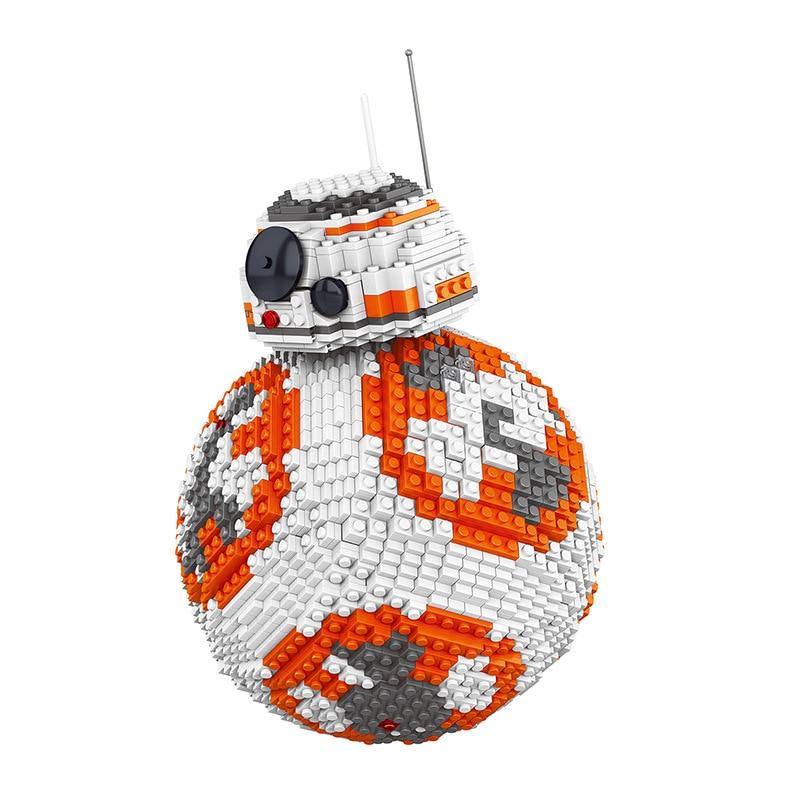 IN STOCK DHL UCS LELE 35020 2069PCS Star Wars Poe Dameron Astromech droid BB-8 Robot Model Building Block Gifts Bricks Kids Toys matrix 35020
