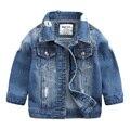 2017 Spring New Fashion Children Outerwear & Coats Boys Clothing Hole Denim Jacket Baby Kids Jackets Long Sleeve Denim Jean Coat