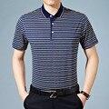 2017 verano camisa de polo hombres de la marca de estilo classisc polos de algodón transpirable gimnasio top camisas poloshirt ocasional