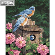 Картина daimond крестообразная птица 3d Алмазная живопись Стразы