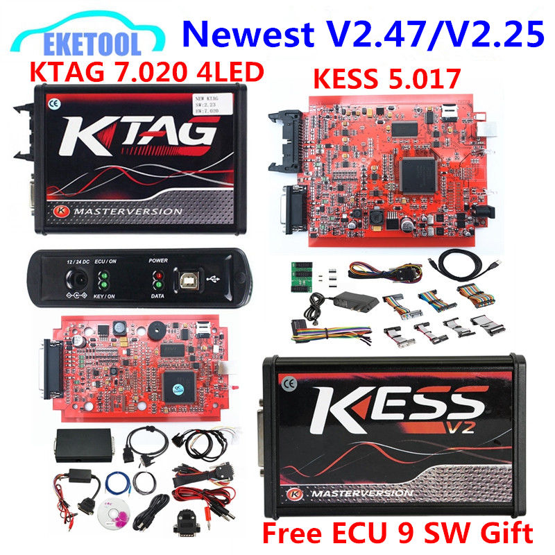 New 4LED Red PCB KTAG V7.020 SW2.25 KESS V2.47 V5.017 V2 Red PCB EU Version KESS 5.017 V2.47 Unlimited Token K TAG 7.020New 4LED Red PCB KTAG V7.020 SW2.25 KESS V2.47 V5.017 V2 Red PCB EU Version KESS 5.017 V2.47 Unlimited Token K TAG 7.020