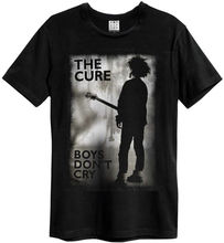 The Cure Boys DonT Cry (Black) T-Shirt - Amplified Clothing NEW & OFFICIAL MenS T-Shirts Short Sleeve O-Neck Cotton