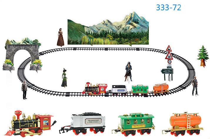 Classic-Train-Set-for-Kids-with-Smoke-Realistic-Sounds-Light-Remote-Control-Railway-Car-Christmas-Gift-Toy-2