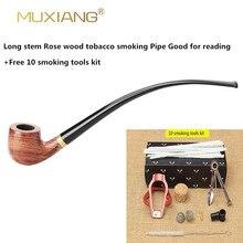 موكسيانج تشورتشواردن طويل الجذعية kevazingo الخشب التدخين الأنابيب 3 مللي متر تصفية خشبية التبغ الأنابيب الاكريليك المعبرة ad0008