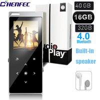 2019 Hot Sale CHENEFEC Brand Metal Built in Speaker 16GB MP3Player,Support Bluetooth 4.0,FM Radio Touch Button Music Player