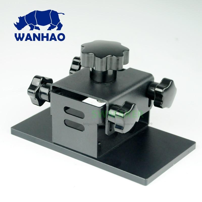 Wanhao D7 D7 PLUS plaque de construction en aluminium/plate-forme d'impression Wanhao DLP/SLA pièce de rechange d'imprimante 3D