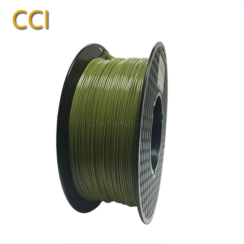 3d printing filament pla1.75mm army green color 1kg 3D printer material ilitary green