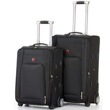 Letrend Classic Rolling Luggage Spinner Fashion High-grade Wheel Suitcase Oxford Trolley Men Carry On Women password Travel Bag