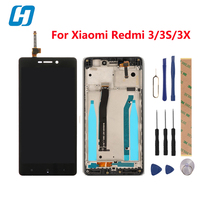 Xiaomi Redmi 3 3S LCD Display Touch Screen Frame Digiziter Screen Touch Panel Accessory Screen For