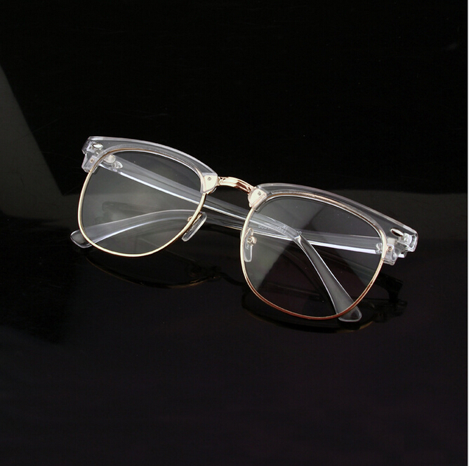 new 100 retro clear glasses frame transparent optical