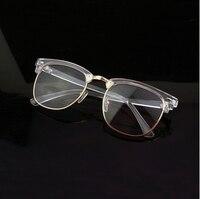 New Fashion Transparent Retro 100 Acetate Glasses Full Frame Eyeglasses Optical Prescription Eyeglasses