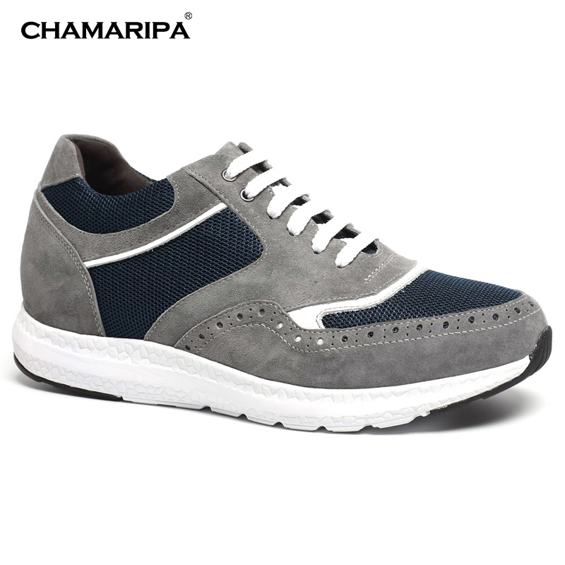 CHAMARIPA Increase Height 6cm/2.36 inch Taller Elevator Shoes Height Increasing Shoes Casual Shoes Elevator  chamaripa increase height 7cm 2 76 inch taller elevator shoes black mens leather summer sandals height increasing shoes