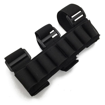 CQC Tactical Buttstock 8 Round 12 Gauge 12GA Ammo Bullet Shell Holder Bag Airsoft Paintball Shooting Hunting Belt Mag Pouch 3