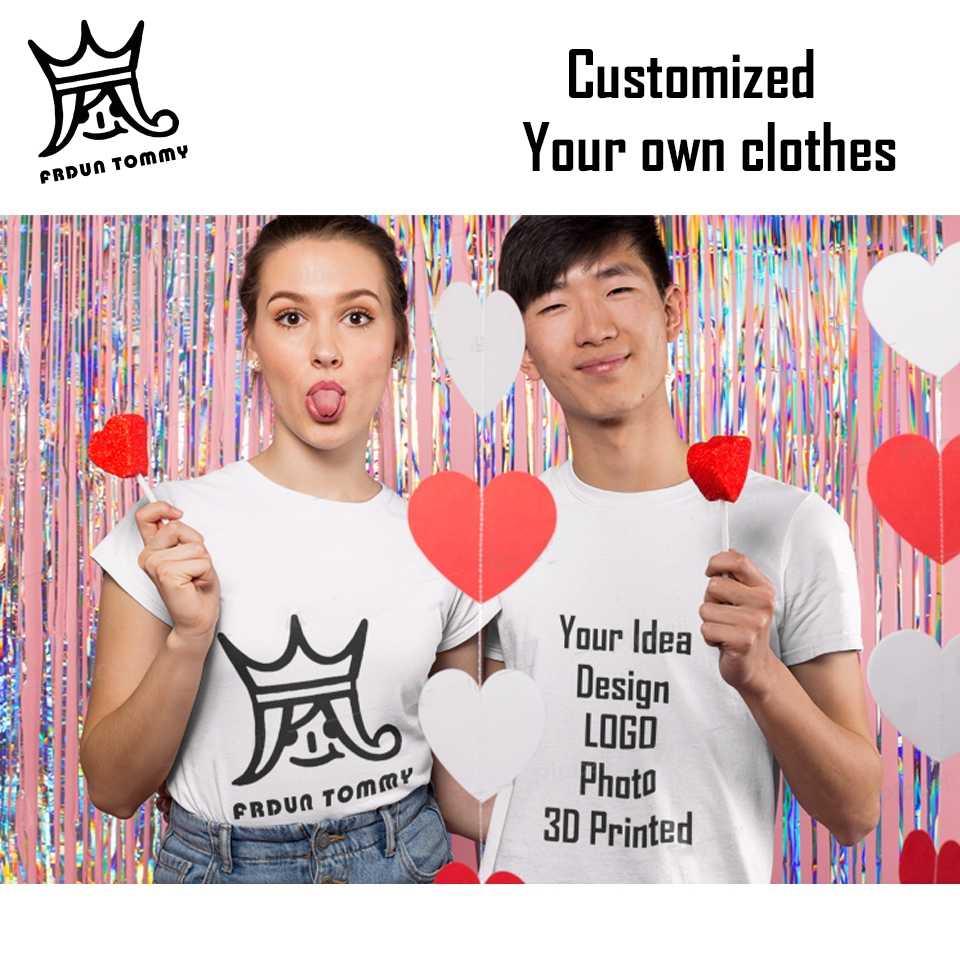 FRDUN トミー 2019 無地 Tシャツメンズ黒と白の綿 Tシャツ夏のスケートボード Tシャツスケート Tシャツトップスプラスサイズ