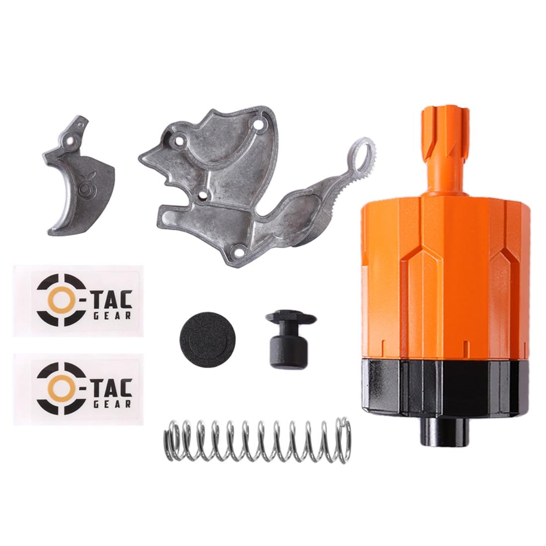 Orange Mod Works Hand-made Limited Edition Modified Kit for Nerf Zombie Strike Hammershot Blaster