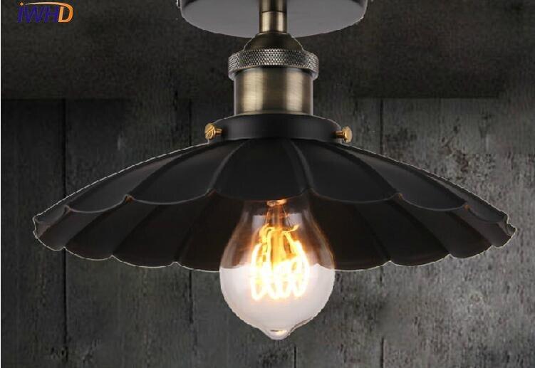 Plafondlamp Edison Luzes de Teto Para Casa Iluminação Do Vintage