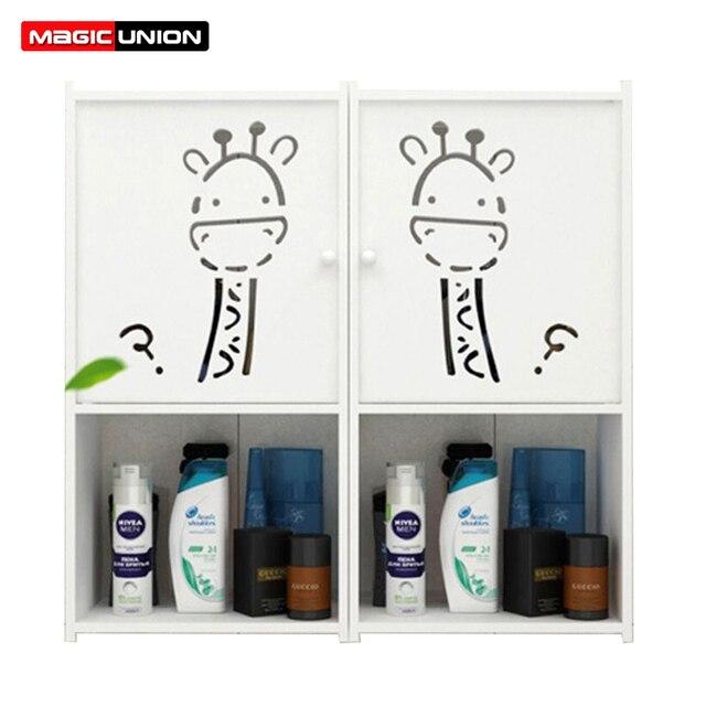 Magie Union Wand Badezimmer Aufbewahrung Regale Wc Schrank Eitelkeit