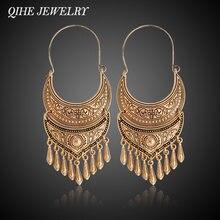 Qihe ювелирные изделия древний цвет серебристый Золотой Цвет