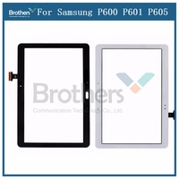 Para Samsung Galaxy Note 10 1 P600 P601 P605 Digitalizador de pantalla táctil Sensor de panel de vidrio de la tableta de SM P600 pantalla LCD Tablets LCD y paneles     -