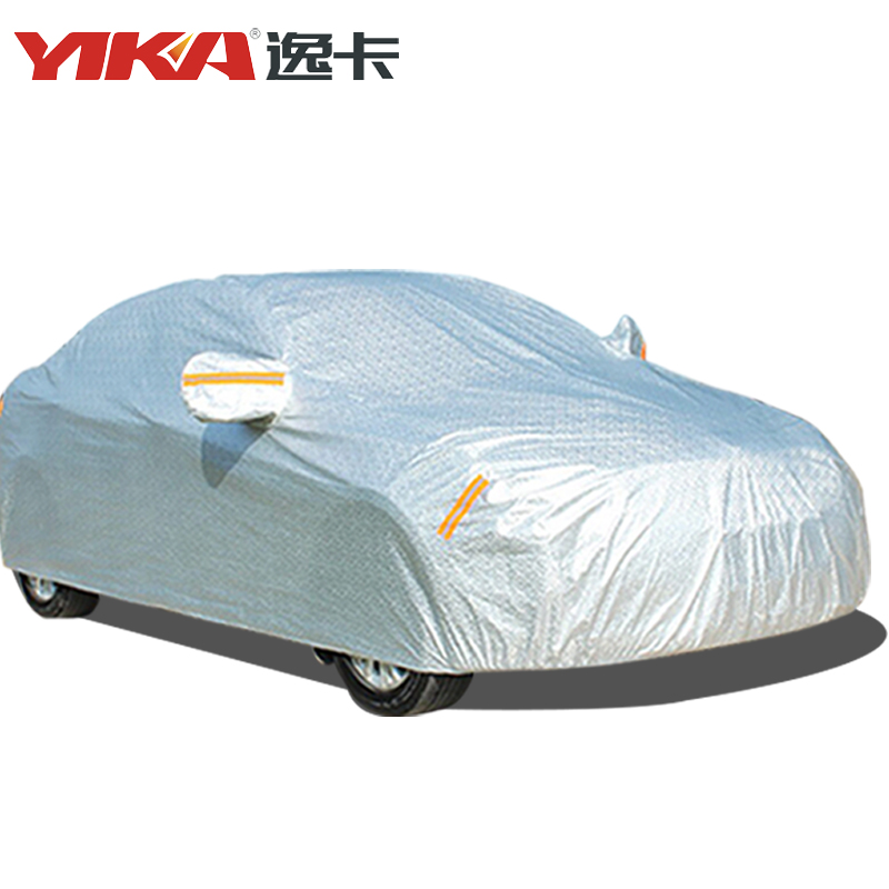 YIKA Universal Waterproof Thicken Case For Car Sun Dust Rain Protection Indoor Outdoor Full Car Covers Breathable Sun UV Snow чехол yika 2