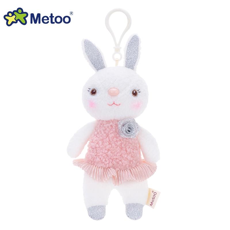 提拉米兔吊饰玫瑰花款-玫瑰粉