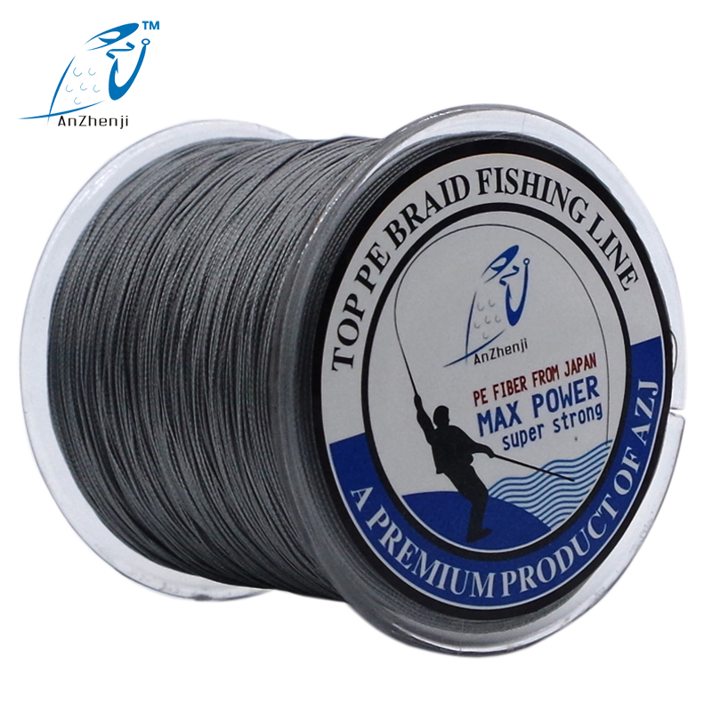 ANZHENJI 8 STRANDS Weaves 500M Extrem Strong Japan Multifilament PE 8 Braided Fishing Line 15 20 40 50 60 80 120 150 200LB peche