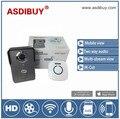 Wholesale two way audio Video Door Phone WIFI Doorbell HD IP Door Camera 720P Wireless Intercom Video Door Bell with door unlock