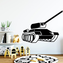 Free shipping tanks Nursery Wall Sticker Vinyl Art Decorfor Living Room Bedroom Decoration Removable Decor Decals