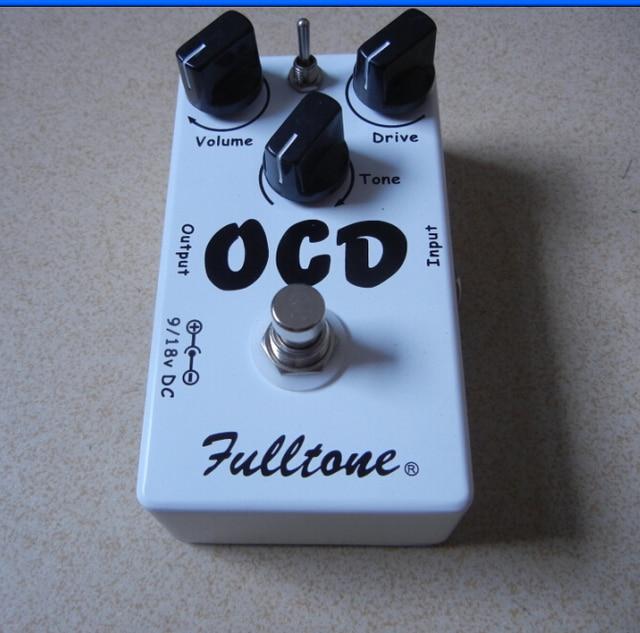 Accesorios de guitarra clon, pedal de guitarra Fulltone OCD, Overdrive, accionamiento obsesivo compulsivo (OCD), Pedal de tono increíble