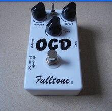 גיטרה אביזרי שיבוט OCD Fulltone גיטרה דוושת Overdrive אובססיבית כפייתית כונן (OCD) דוושת נהדר טון דוושת דה guitarra