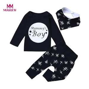 MUQGEW 3pcs New year costumes Clothes Set Pants baby boys 4f66317f9