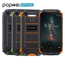 POPTEL P9000 Max 4 GB 64 GB IP68 Su Geçirmez Darbeye Dayanıklı SmartPhone 9000 mAh 5.5